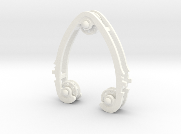 Geared Widget #2 of 5 in White Processed Versatile Plastic
