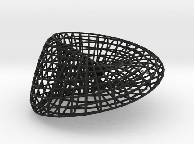 Moebius + Ellipse 18 | bracelet | L 3d printed
