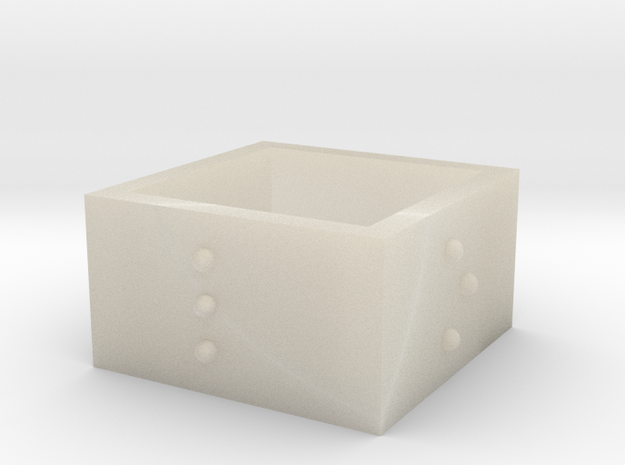 squareRing_LOVE_17-75mmx12mm 3d printed