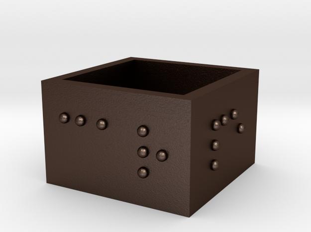 squareRing_CarpeDiem_19mmx15mm 3d printed