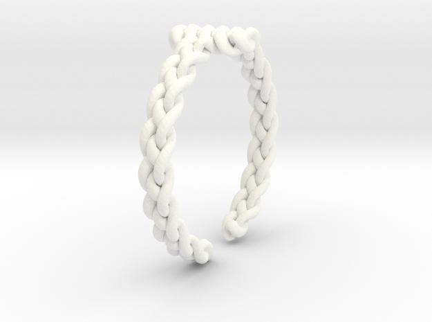 Cross in White Processed Versatile Plastic
