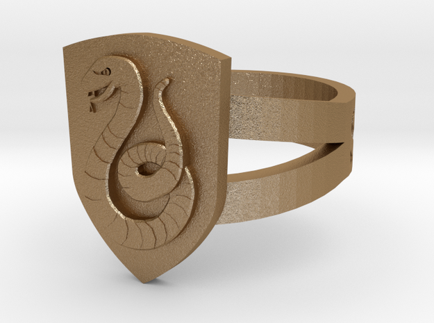 Slytherin Ring Size 11 3d printed