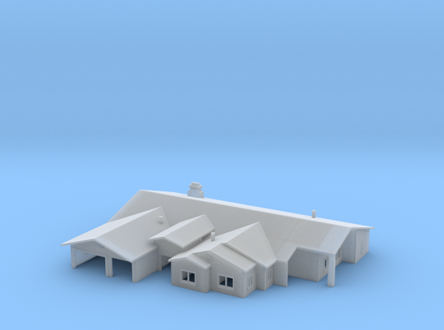 Ranch Style House 1 3d printed