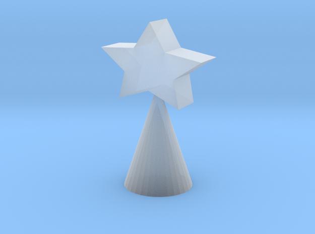 Xmas Tree Star small 3d printed