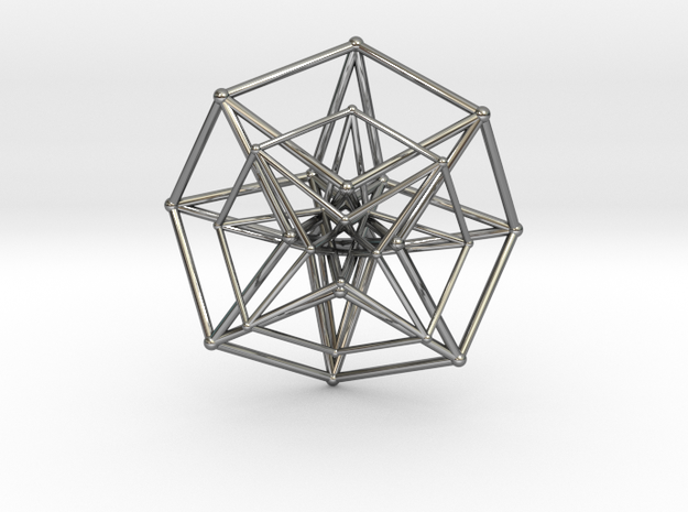 Hypercube Double Over 50mm 3d printed