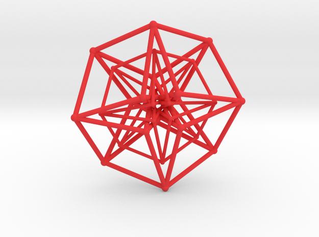 Sacred Geometry: Toroidal Hypercube Double 50mm