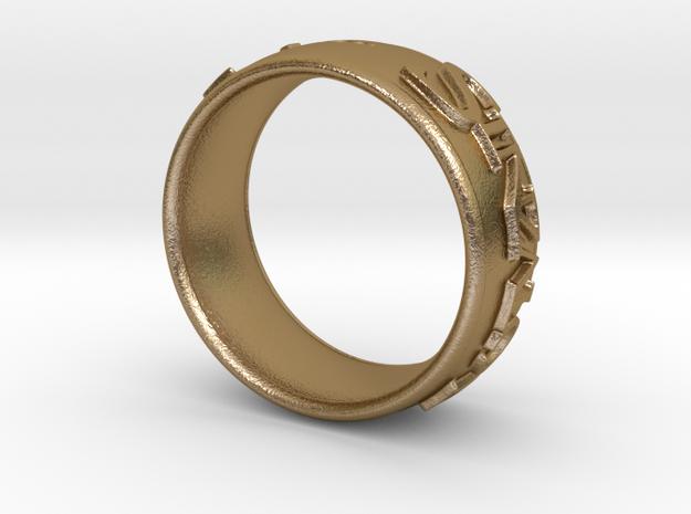 Sinzalot Ring 3d printed