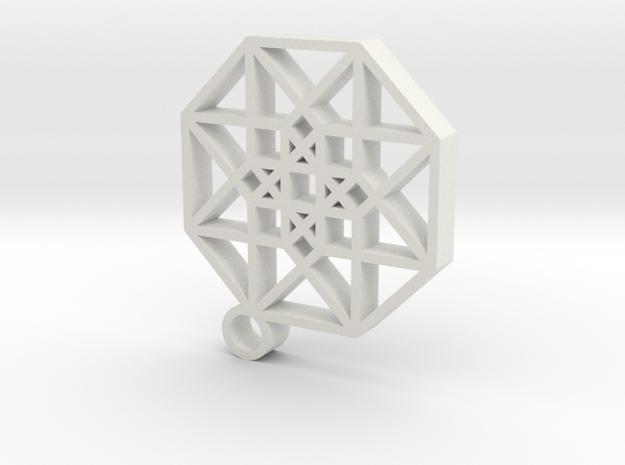 Hypercube1 in White Strong & Flexible