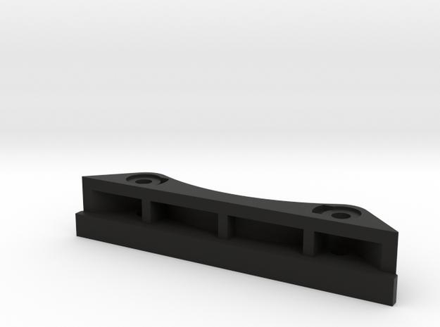 CC01 front bodymount 10mm lift in Black Natural Versatile Plastic
