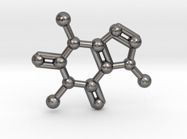 Caffeine Molecule Necklace / Keychain