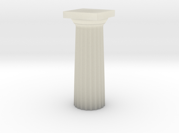 Parthenon Column Top (Hollow) 1:100 3d printed