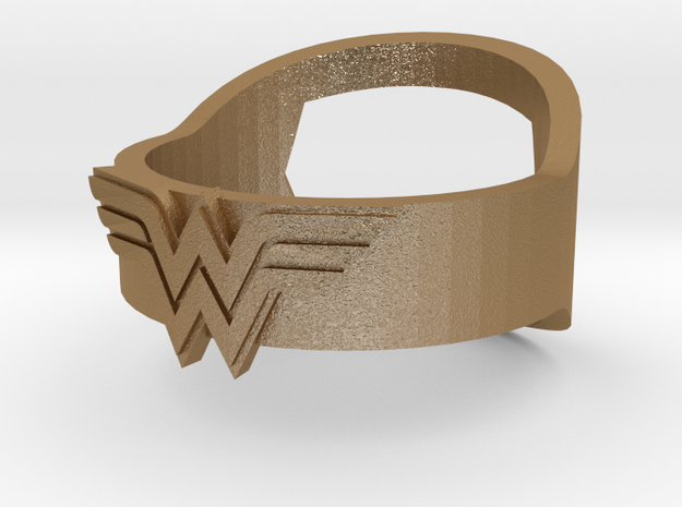 Wonder Woman ring - Bottle Opener band or regular 3d printed
