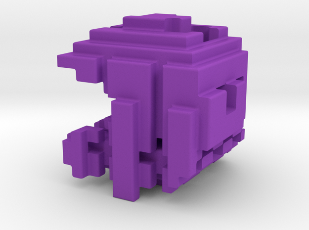 Pacman Cubed, Small 3d printed