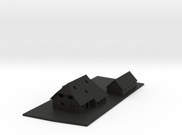huis scaled 3d printed