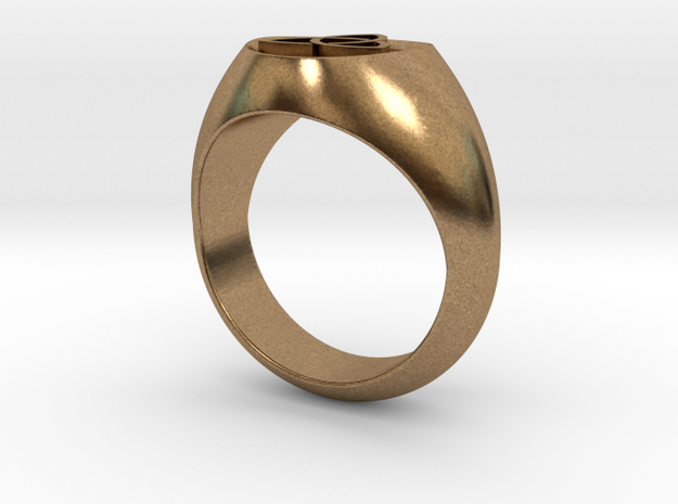 Trinity ring size 7 3d printed