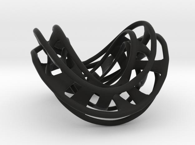 Mobius Hexagon Linkage 3d printed