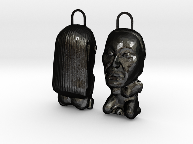 INDIANA JONES FERTILITY IDOL FRONT & BACK 3d printed