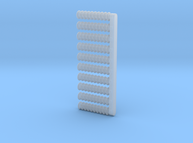 10x Isolator D 1,8x8 (1/220) # in Smooth Fine Detail Plastic