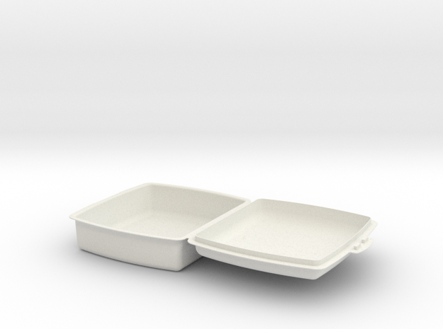 sandwichera simple 3d printed