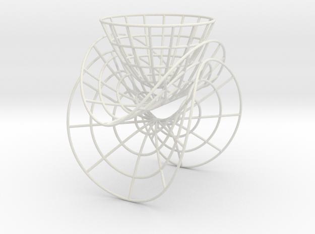 Curvature surfaces in White Natural Versatile Plastic