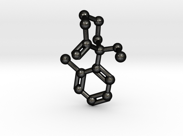 Ketamine Molecule Keychain Necklace
