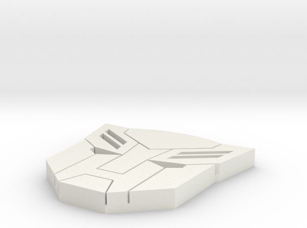 small autobot in White Natural Versatile Plastic