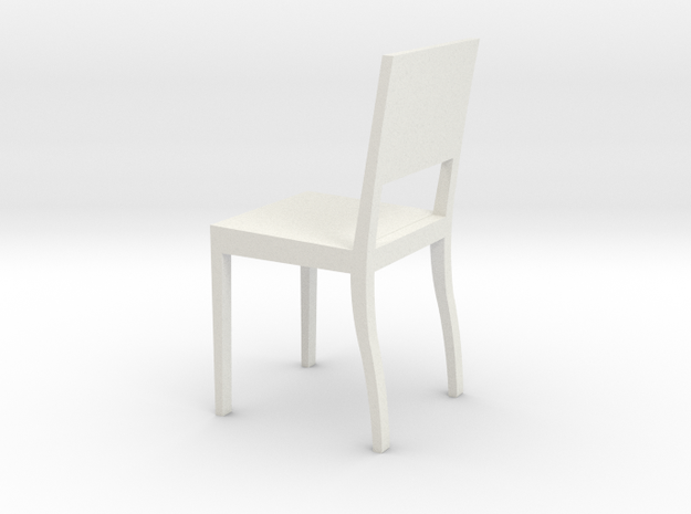 1:24 Square Chair 1 3d printed