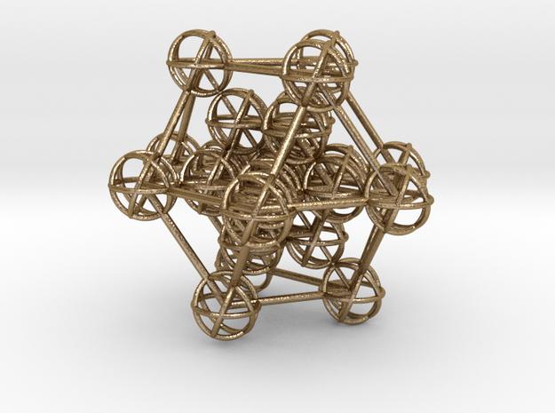 Metatron's Hypercube Variation 60mm 1.5mm  3d printed