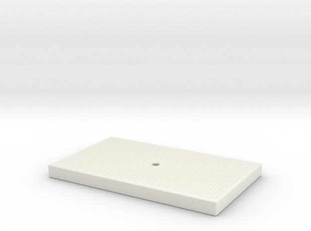 FREMO Signal Base - Lid in White Natural Versatile Plastic
