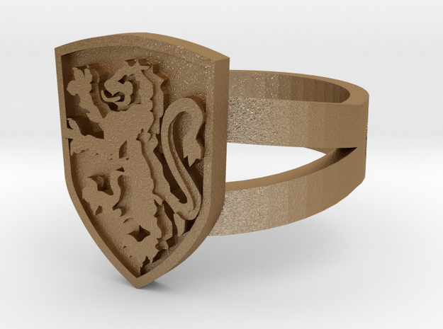 Gryffindor Ring Size 12 3d printed