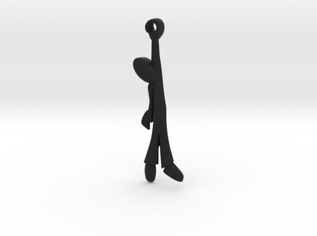 Hanging Man -v2a Steel Smoothed 3d printed
