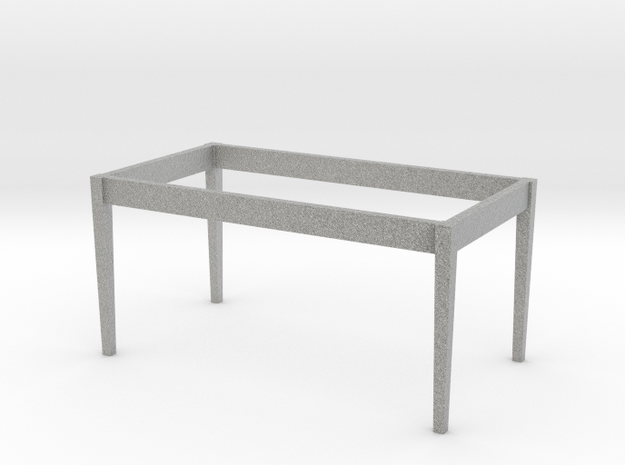 1:24 Dining Room Table Base 3d printed