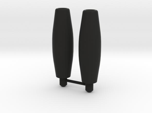 Galvatron barrels 3d printed