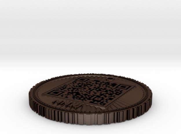 BitCoin Test - 1ABKCCvfZwKLbpqxEUSAd35aafxGiyyHG3 3d printed