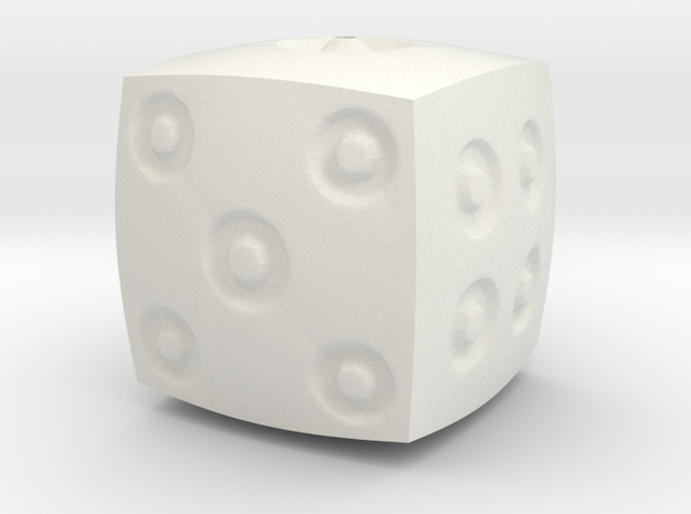 Dimple d6 in White Strong & Flexible