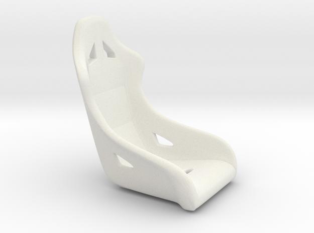 1/18 Scale Modern Racing Seat Single 3d printed