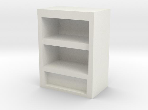 Bookshelf 2h in White Strong & Flexible