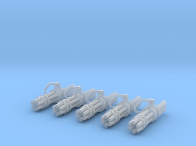 Minigun conversion (x5) 3d printed