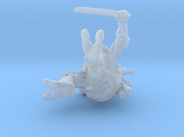 Blue Dude 3d printed