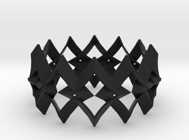 bracelet 01 in Black Strong & Flexible