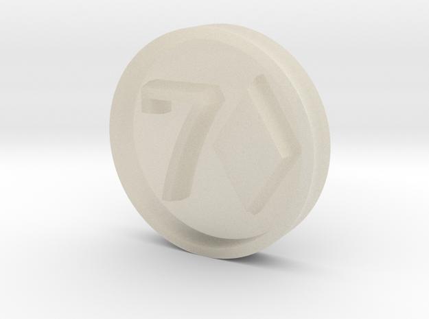 7D_Stamp_v2 3d printed