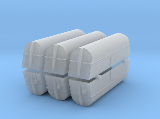 Milk Tank Car Ultra - Z Scale 3d printed