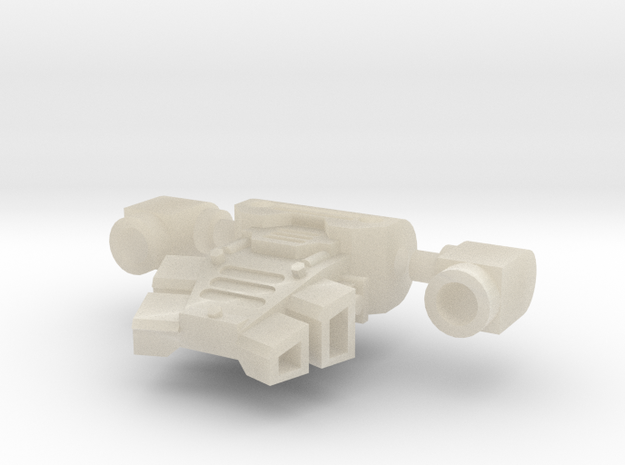 Space Warrior Jet Pack Small Version 1 3d printed