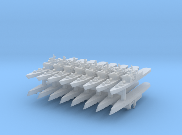 JMSDF Shirane Class DDH-144 1:6000 x16 in Smooth Fine Detail Plastic