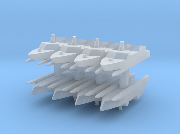 Type 022 1:3000 x8 in Smooth Fine Detail Plastic