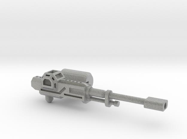 Transformers Rail Gun 3d printed