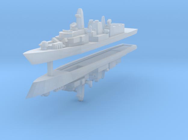 UK Type 23 1:2400 x2 3d printed