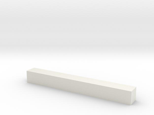 Block 2x2x18 3d printed