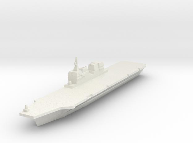 JMSDF Hyuga 1/2400 in White Natural Versatile Plastic
