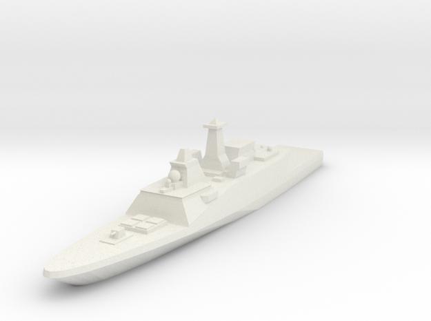 FREMM Frigate 1:3000 x1 in White Natural Versatile Plastic